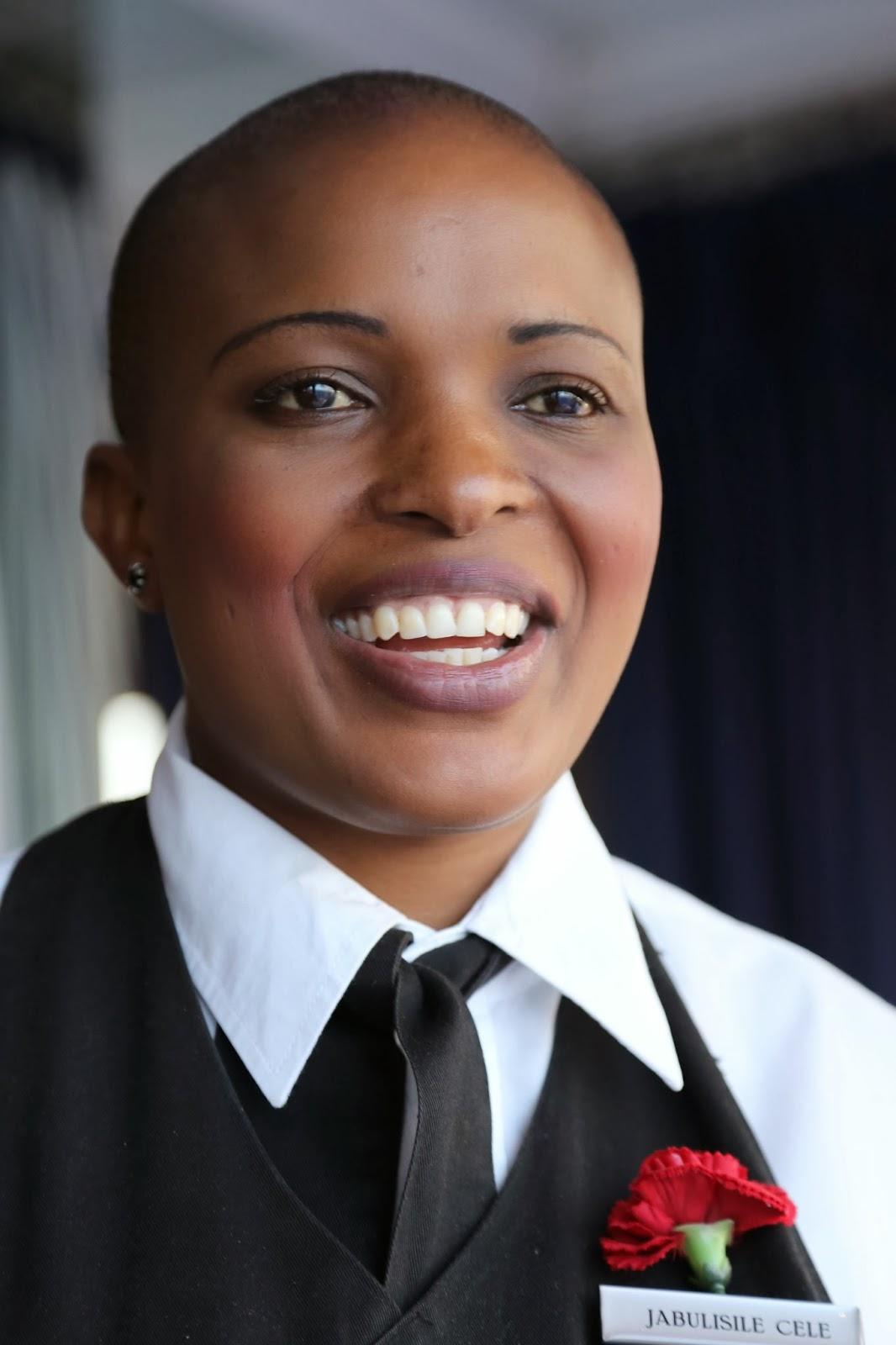 Waitress at the 12 apostles hotel