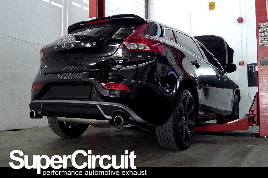 Now This Is Its Shorter Sibling The Volvo V40 T5 With 20 Inline 5cylinder Turbo Charged Engine B5204t9 Supercircuit Catless Downpipe: Volvo V40 Exhaust At Woreks.co