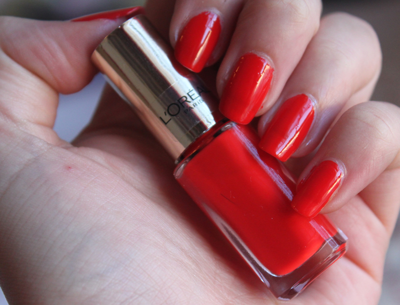 L\'Oreal Color Riche Spicy Orange- Currently on my Nails - A Little ...