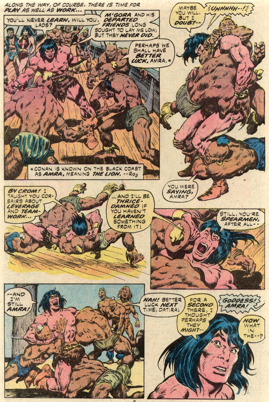 Conan the Barbarian (1970) Issue #94 #106 - English 5