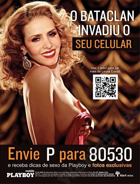 Nua Nu Edi O Pleta Playboy Outubro Leona Cavalli A