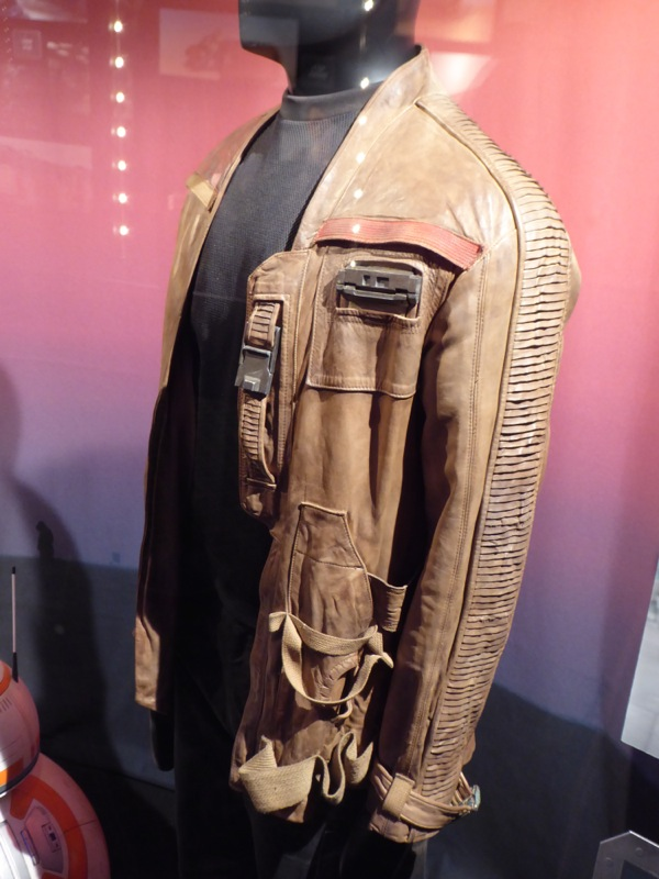Finn jacket detail Star Wars Force Awakens