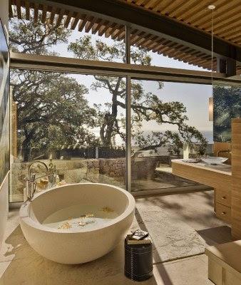 gambar desain kamar mandi minimalis terbaru