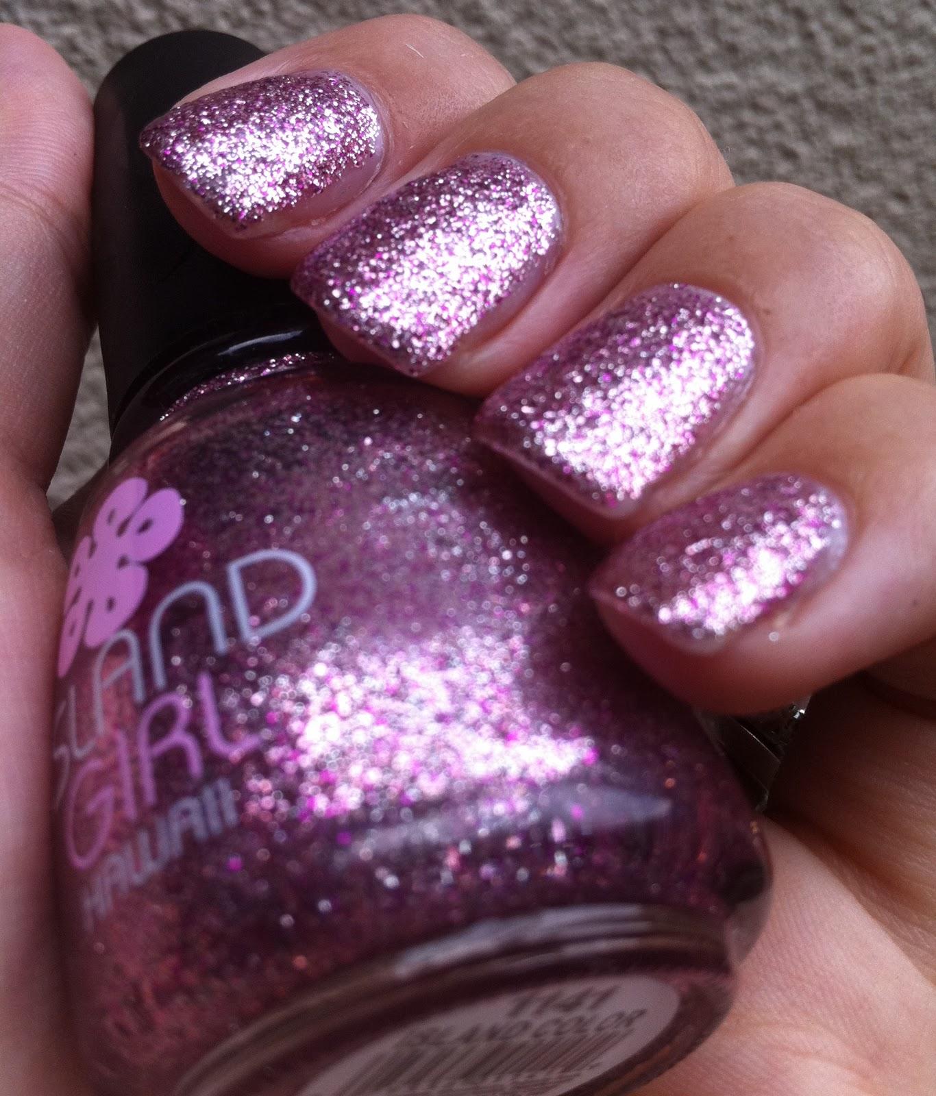 Glam Polish: Island Color - Island Girl (Pink Wednesday)