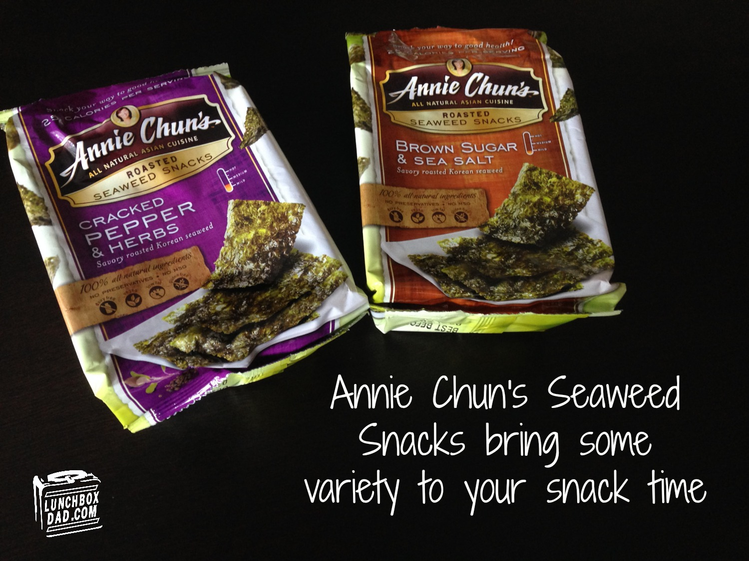 Annie Chun's Seaweed Snack Review