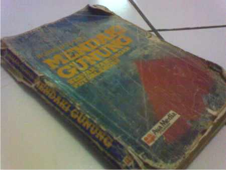 buku Mendaki Gunung Sebuah Tantangan Petualangan