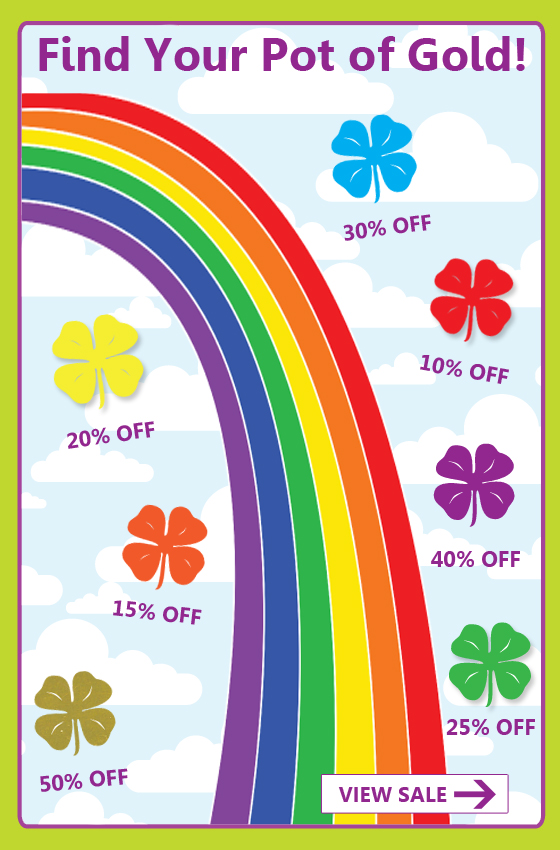 Sham-Rock and Roll - St. Patrick's Day Sale