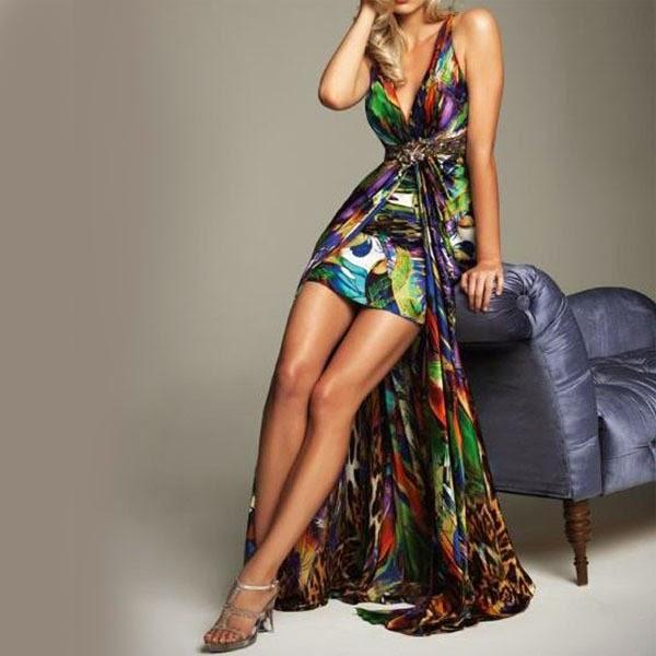 Vestido Glamour Multicolor