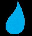 水滴のマーク