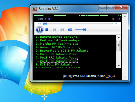 Radioku V2.1 Kini Support Win 7