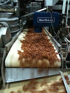 installing the MoistTech pretzel moisture