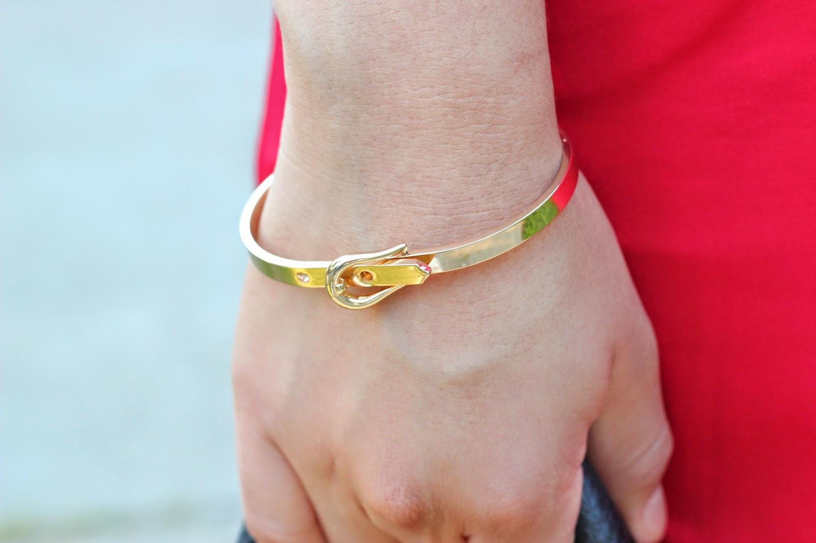 Rocksbox Gold Bracelet
