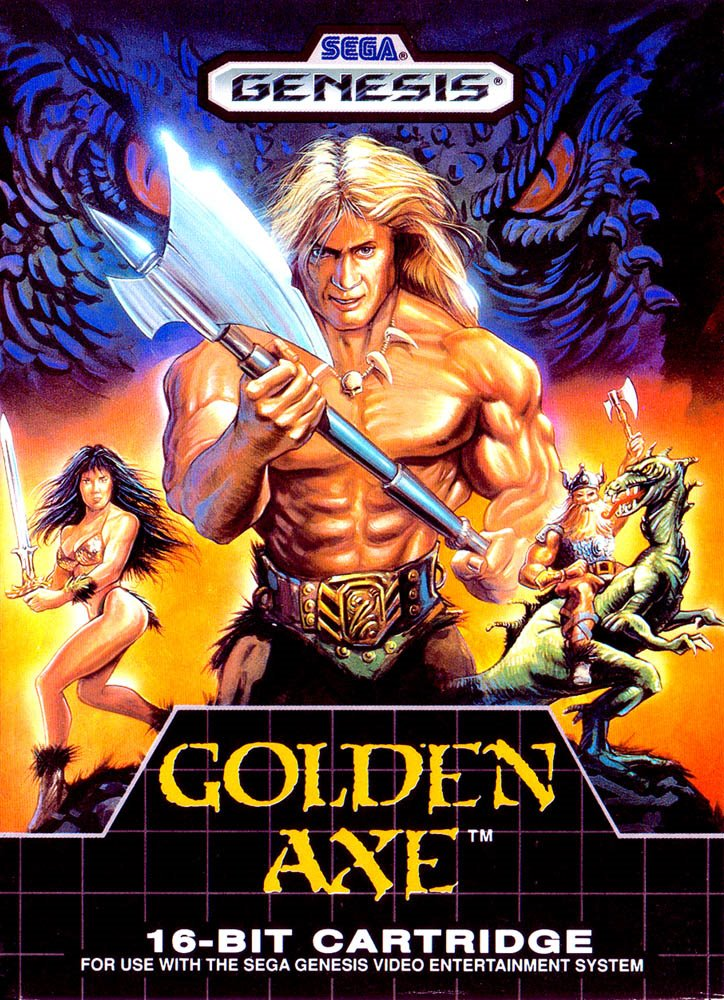 Rooms Golden Axe I y II