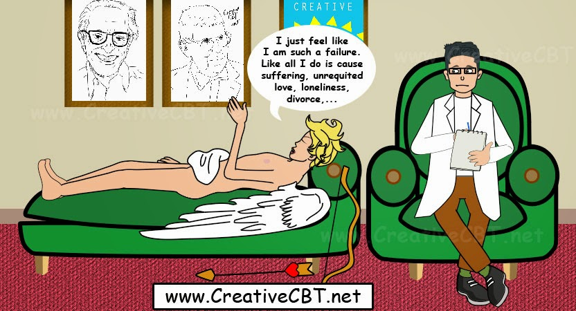 Valentine's Day Cupid Comic