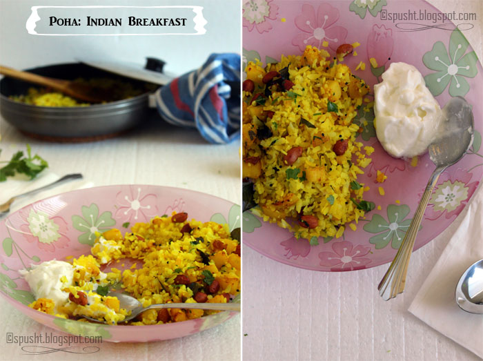 Spusht | Indian Breakfast Poha Recipe