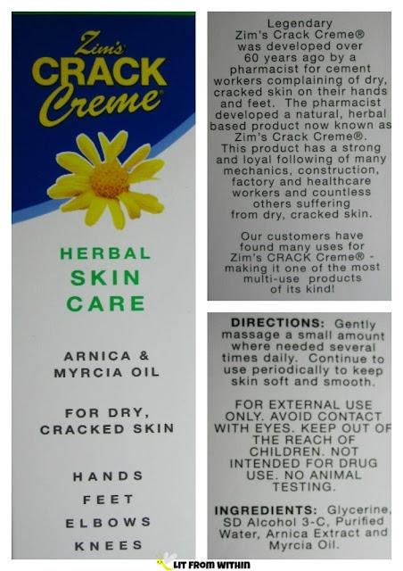 Zim's Crack Creme ingredients, directions