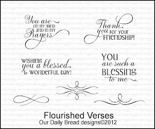 Our Daily Bread Designs, Flourished Verses