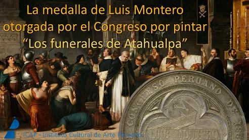 La Medalla de Luis Montero. 1868