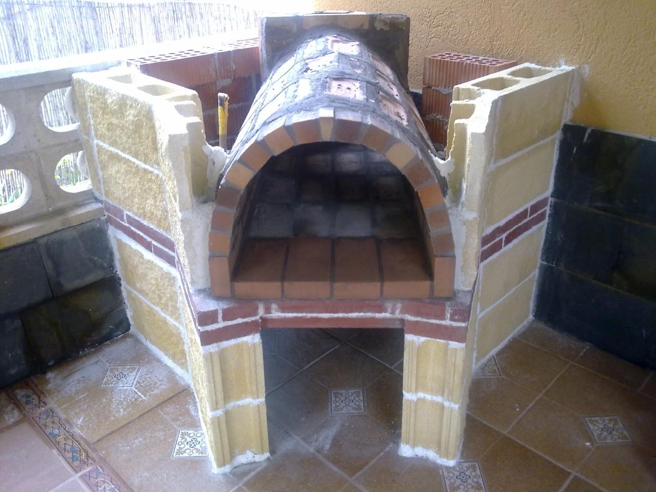Horno de le a Construir un horno de lena