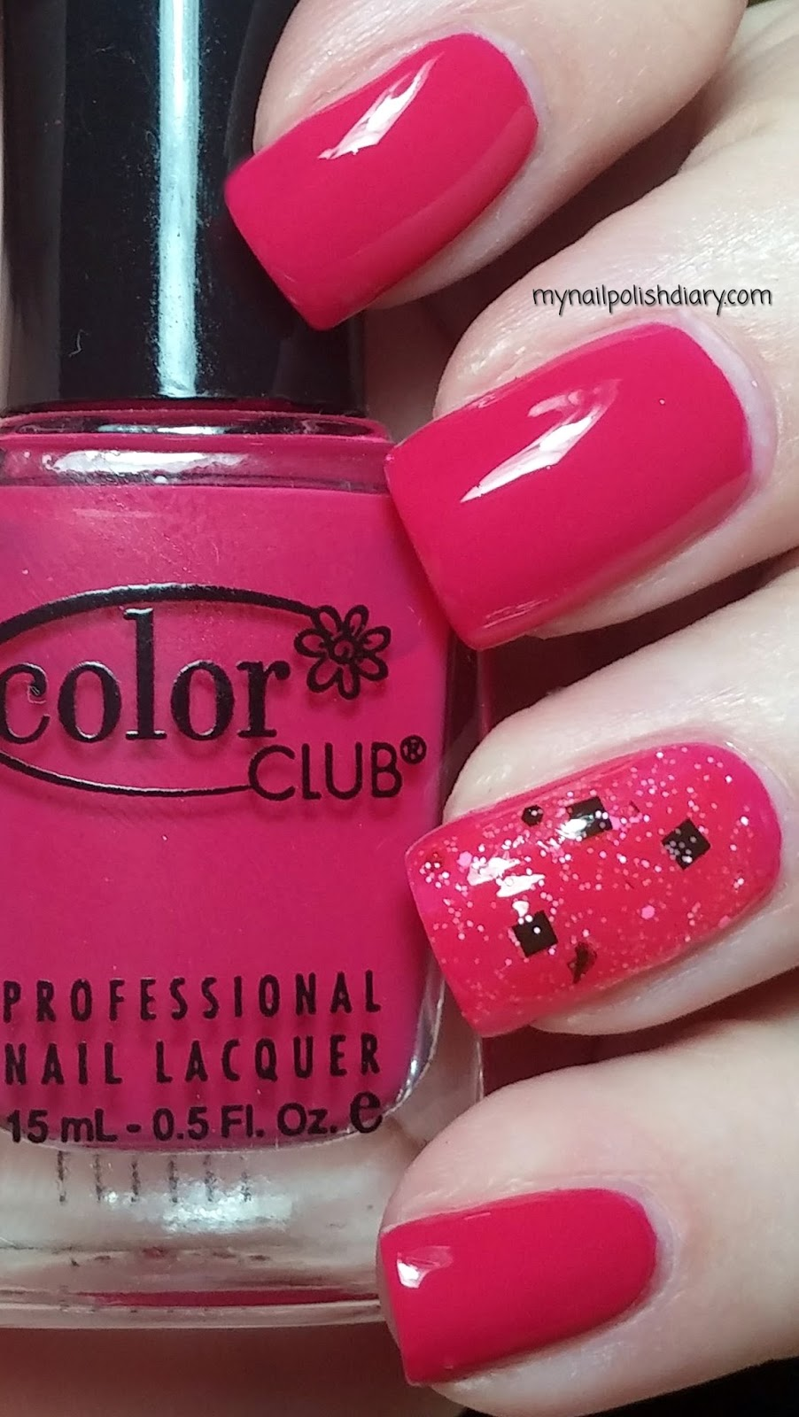 My Nail Polish Diary: Color Club Overboard with Dollish Polish I\'m A ...