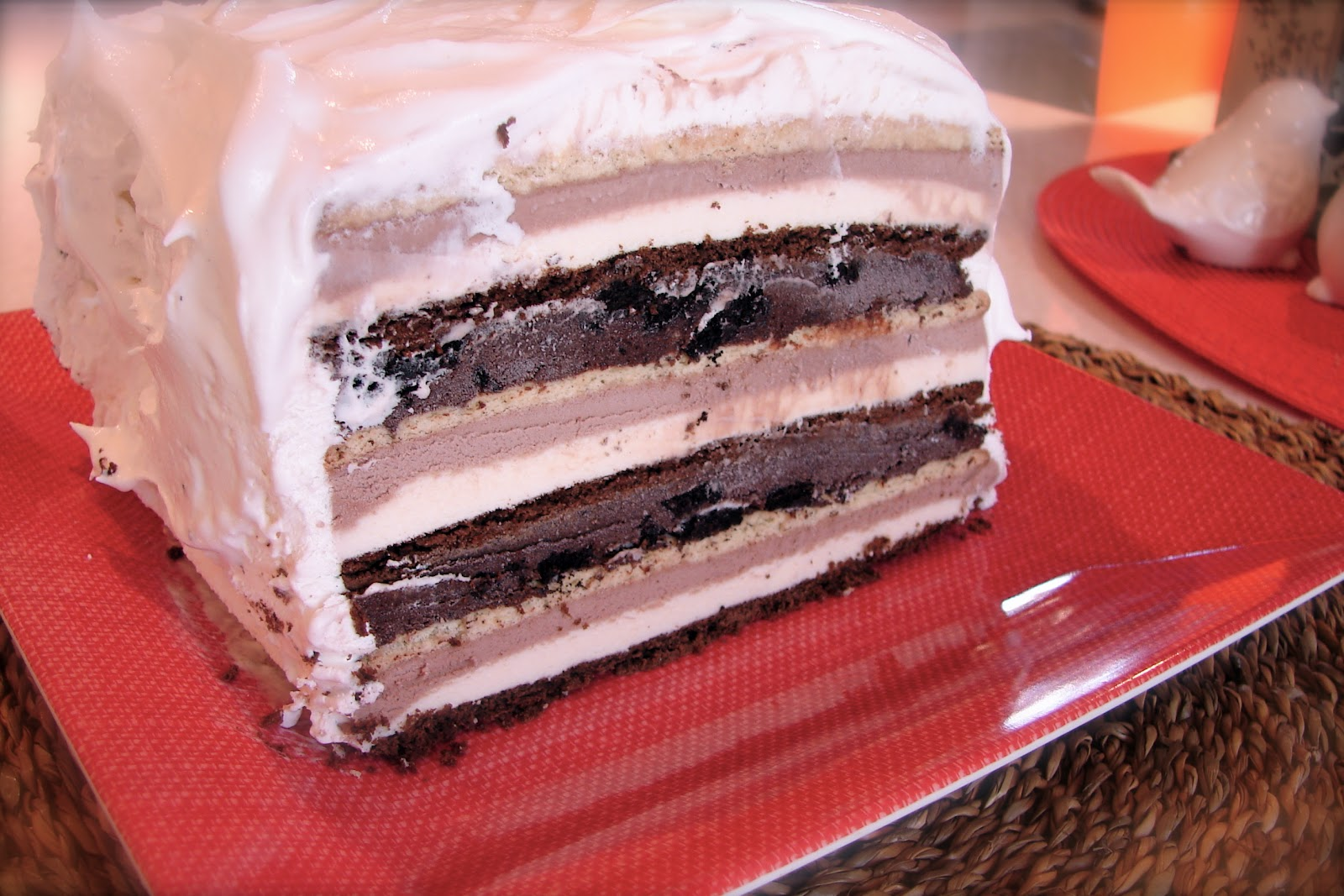 Cake Ice Cream Sandwich Recipe : COSMOGIRL S EMPORIUM: DIY Ice Cream Cake