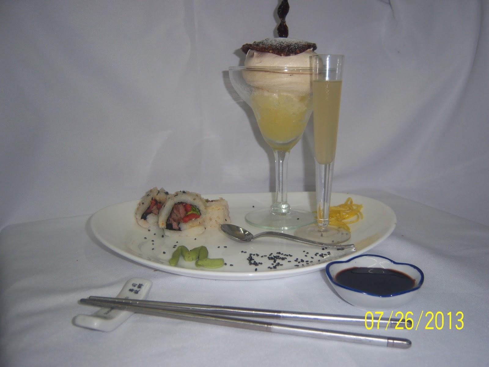 Homenaje gourmet a magda laguinge de postre copa nevada for Frances culinario 1