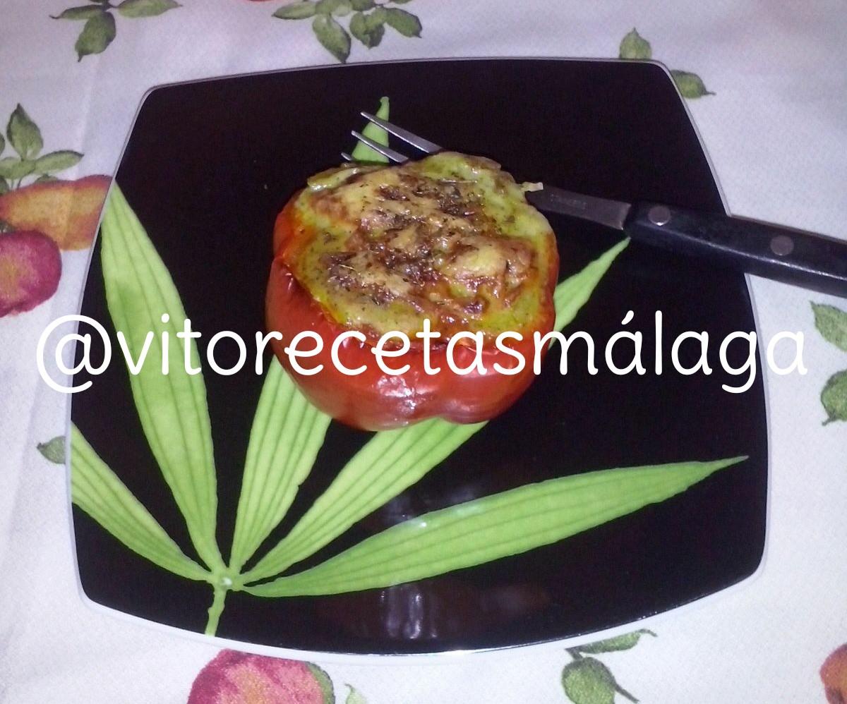 Recevitos pimientos rojos rellenos de verduras y carne - Pimientos rellenos de carne picada y bechamel ...