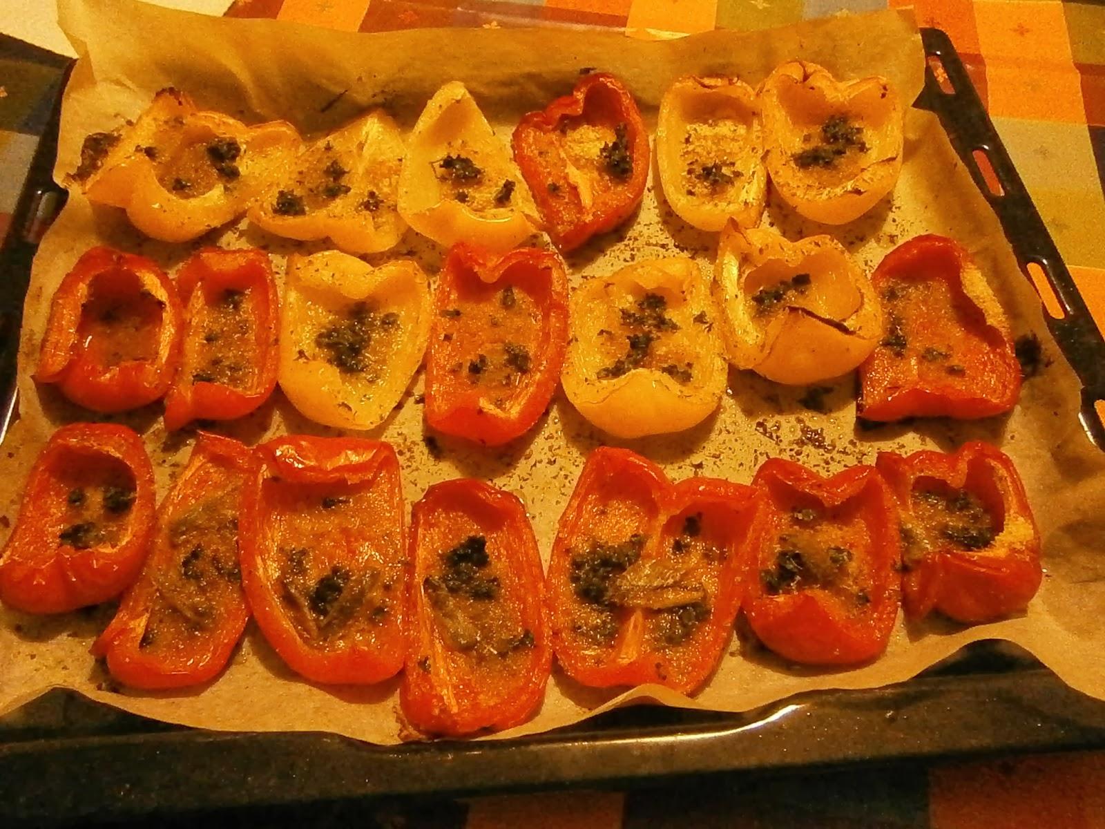 Io in cucina cucinare che passione peperoni for Cucinare wurstel al forno