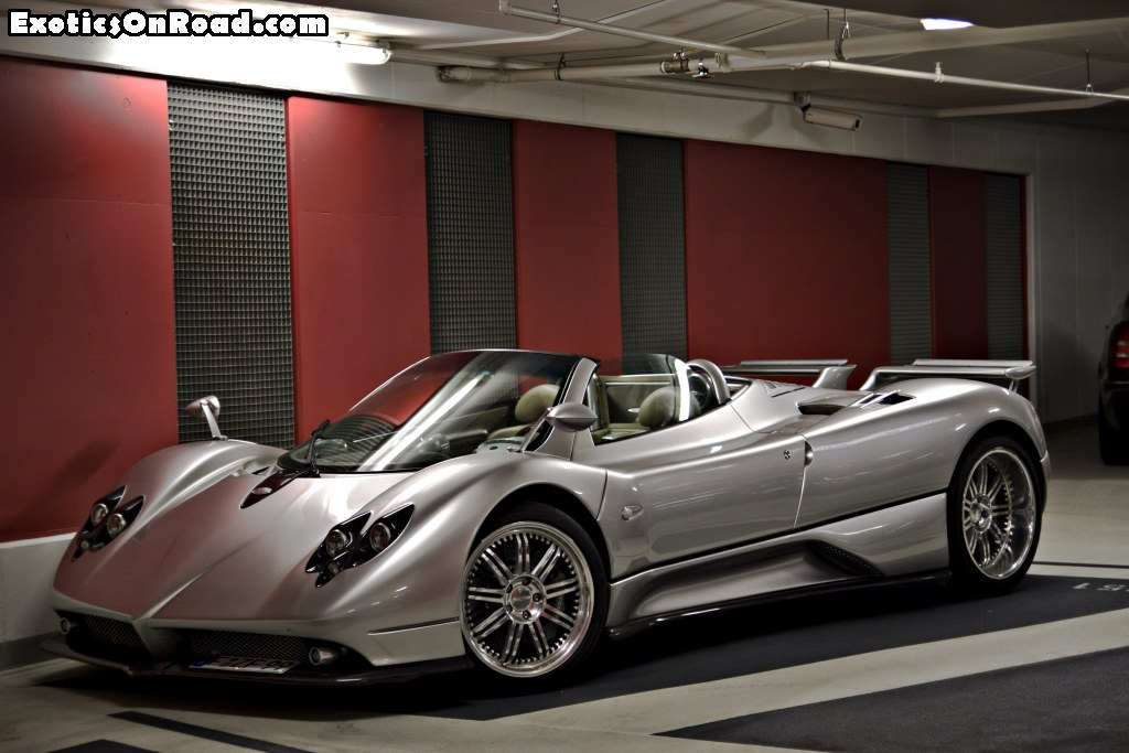 Prototype 0: Pagani Zonda F Roadster For Sale in London!