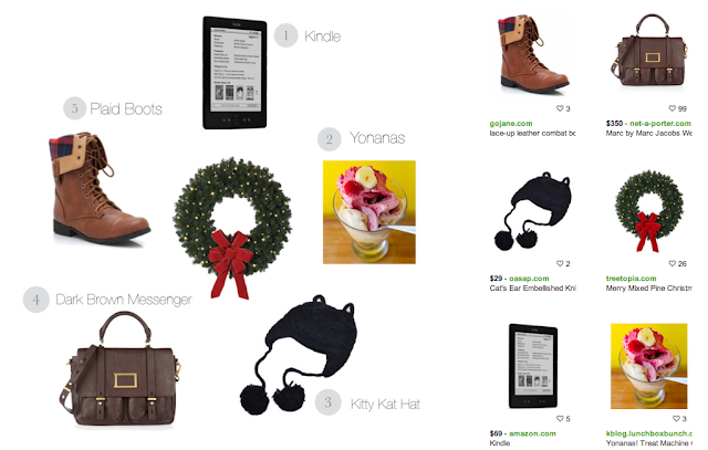 polyvore holiday wish list inspiration board