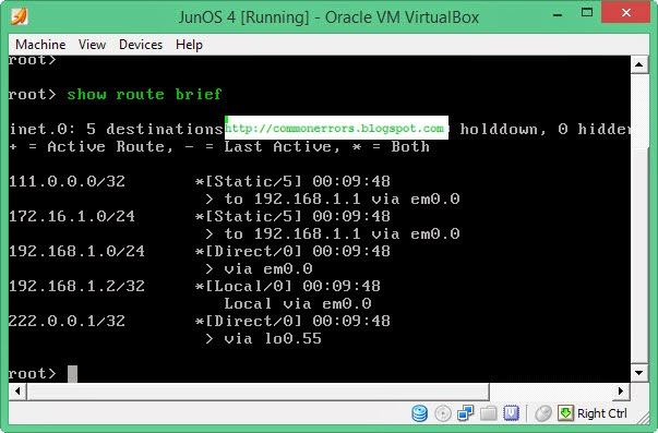 GNS3 Labs | CCNP | CCNA Labs: How to Configure Static routing on