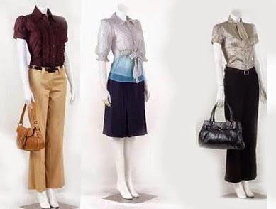 model baju kerja wanita elegan
