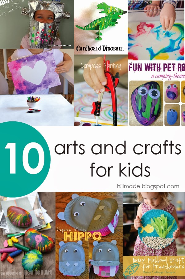 hillmade | 10 arts and crafts for kids