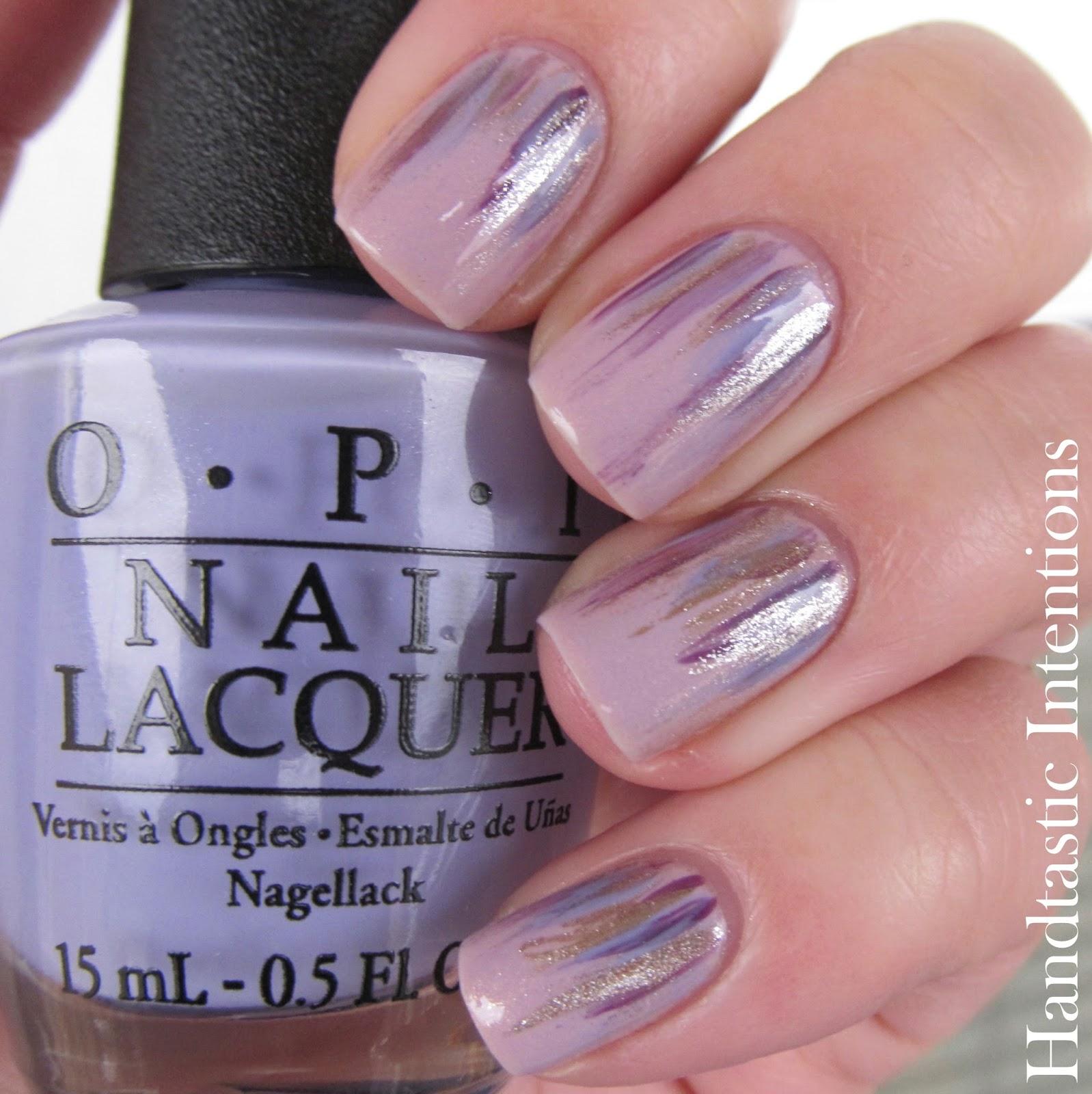 Handtastic Intentions: Nail Art: Purple Waterfall