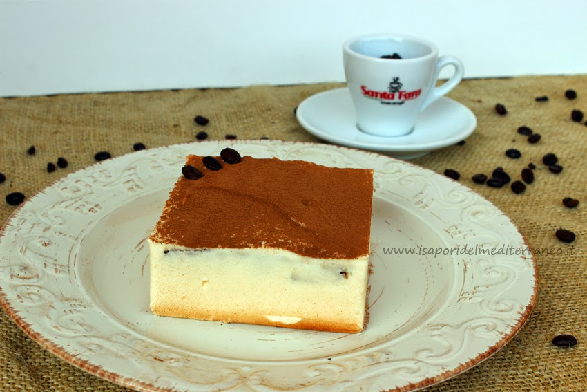 Torta al caffè con crema alla Strega | i sapori del mediterraneo