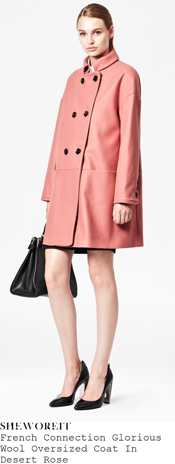 mollie-king-rose-pink-oversized-double-breasted-coat