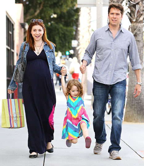 alyson hannigans daughter keeva jane