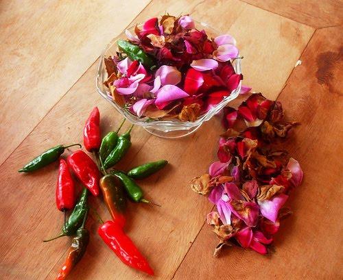 Entre Flores e Pimentas...