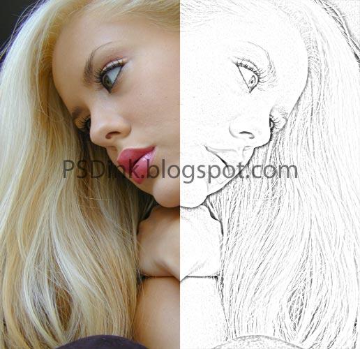 Cara Membuat Sketsa dengan Photoshop