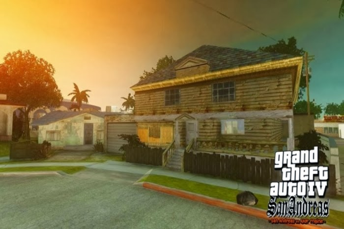 تحميل لعبة جاتا سان أندرياس الأصدار الرابع برابط واحد مباشر مجاناً للكمبيوتر GTA Grand Theft Auto IV: San Andreas