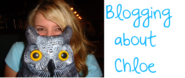 Blogging about Chloe