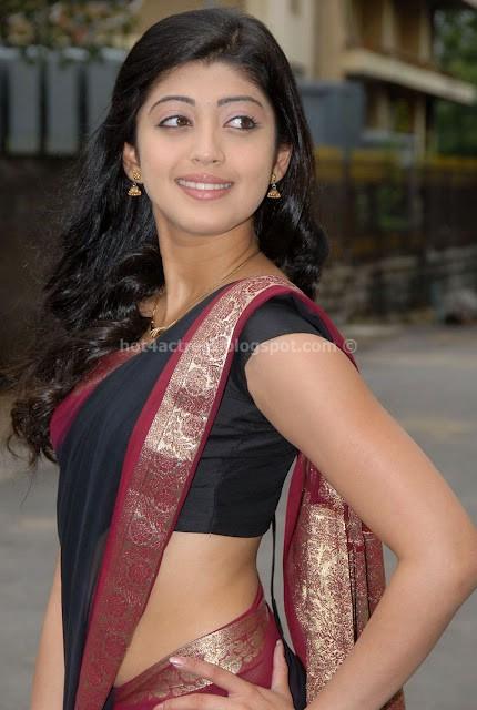 bollywood, tollywood, hot, Pranitha, hot, stills, in, saree