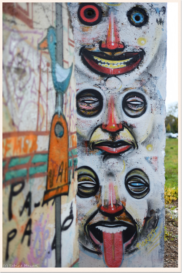 Psynopsis Berlin Wall Graffiti
