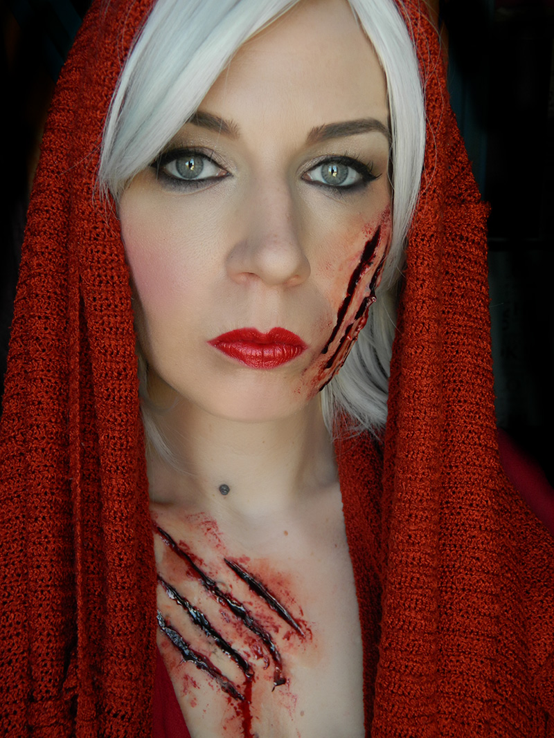 maquillage sans latex halloween