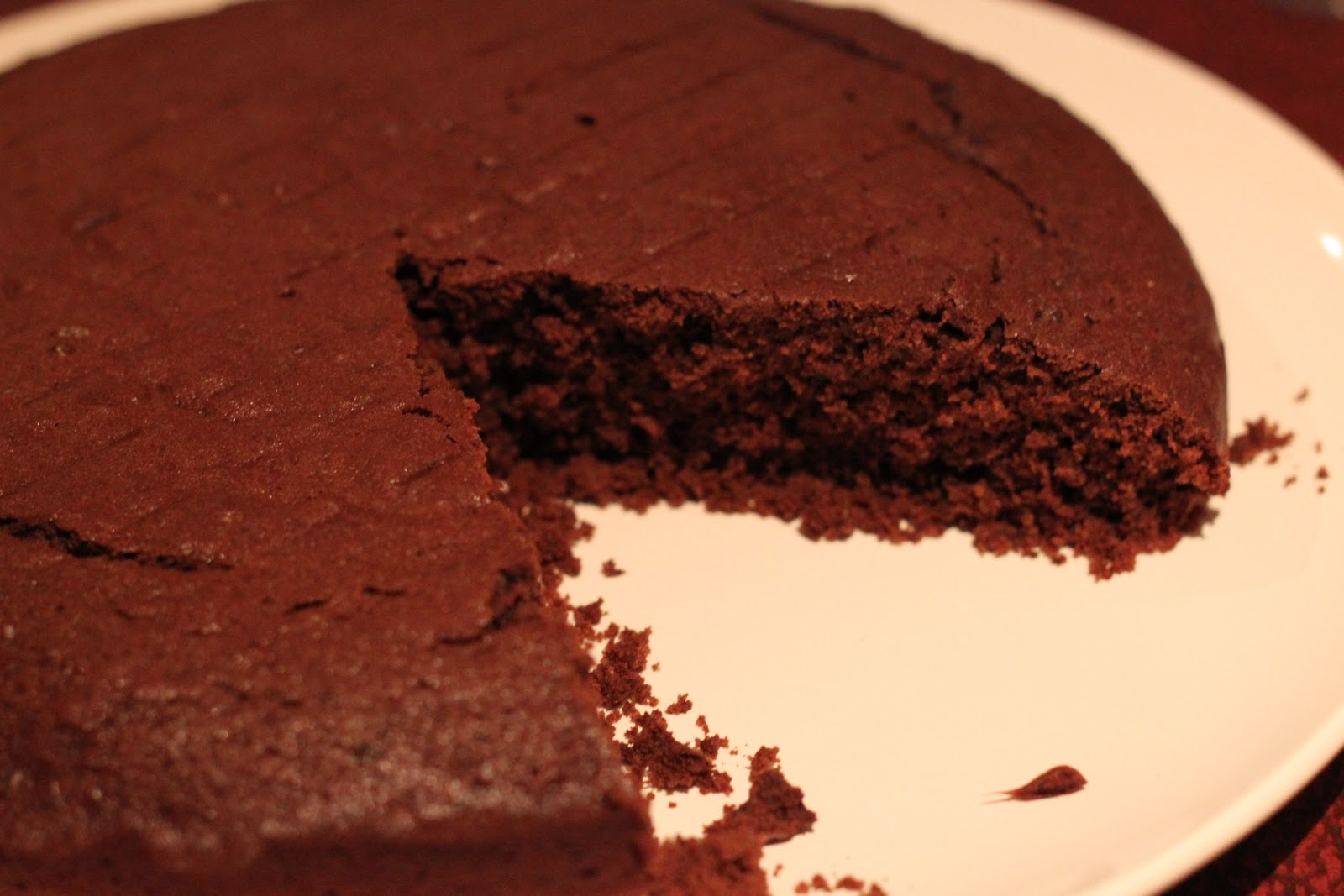 Dine at Mine: Red Wine Chocolate Cake