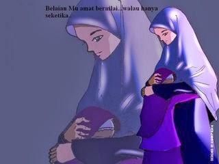 Kisah Seorang Ibu Yang Selalu Menjaga Wudhu Ketika Mengandung Dan Menyusui Anaknya