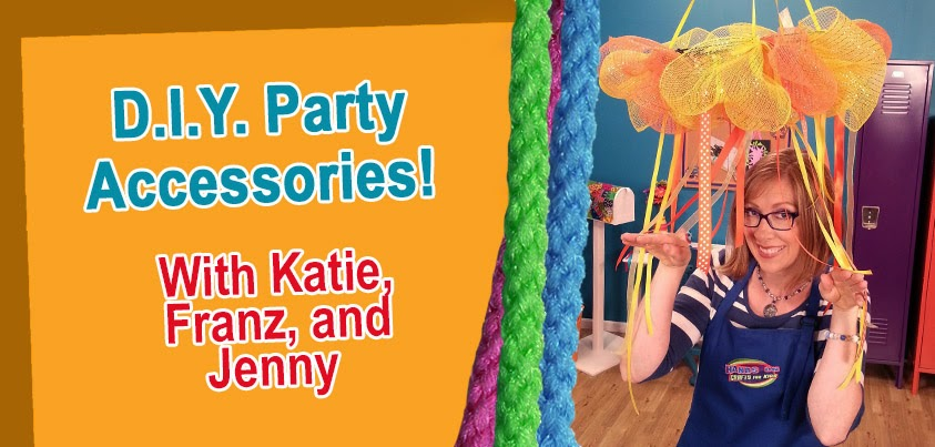 DIY Party Accessories - Photo courtesy of Hands On Crafts for Kids.