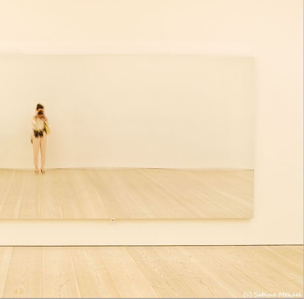 Psynopsis Saatchi Gallery London Jeppe Hein Mirror Selfportrait