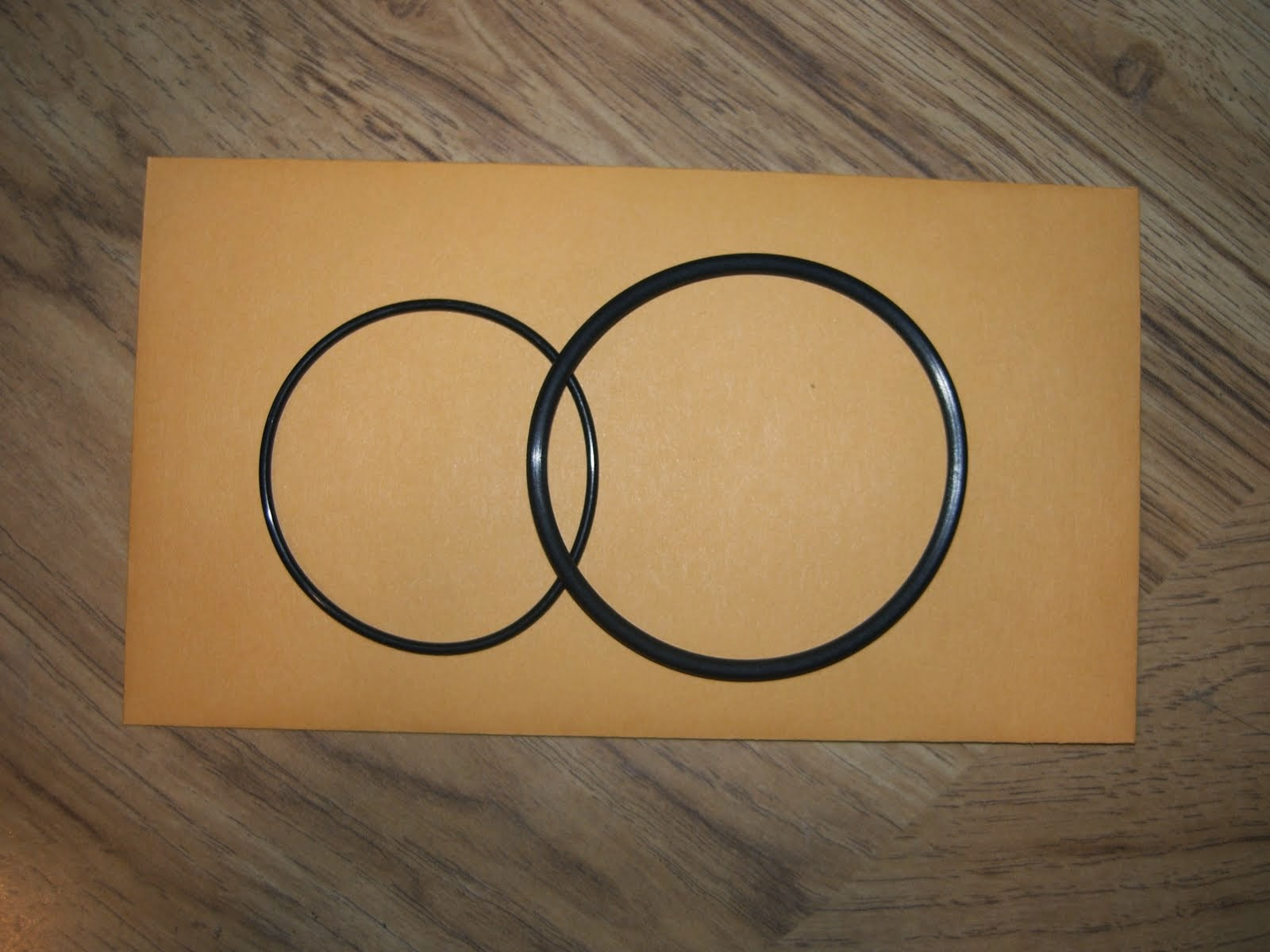 HONDA CA72 CA77 CB77 (EARLIER MODEL) OIL FILTER GASKET O-RING KIT (CB-FG003)
