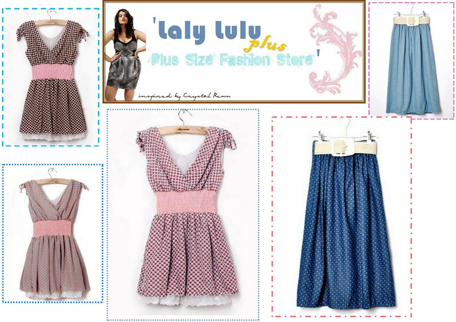 Laly lulu plus size fashion store sarawak online shops for Online stores like lulus